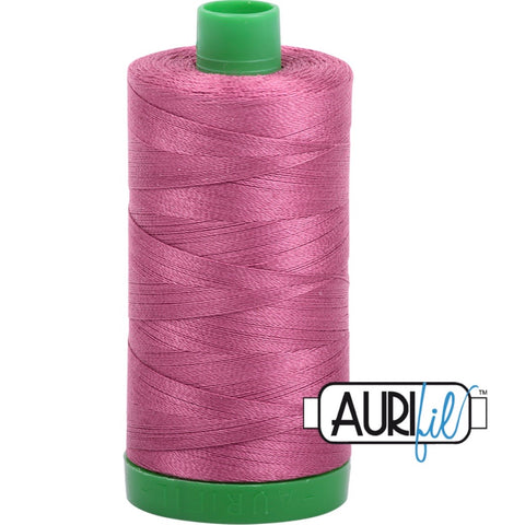 Aurifil Cotton 40wt Thread - 1000 mt - 2450 - Rose