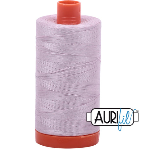 Aurifil Cotton 50wt Thread - 1300 mt - 2564 - Pale Lilac