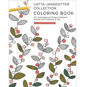 Lotta Jansdotter Collection - Coloring Book