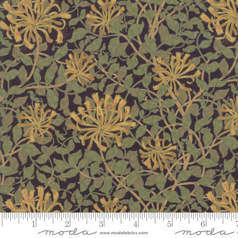May Morris Studio - Honeysuckle - Ebony
