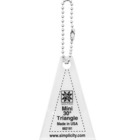 Mini Triangle 30 Acrylic Tool - Keychain