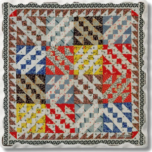 Absorbent Stone Coaster - Quilt 1