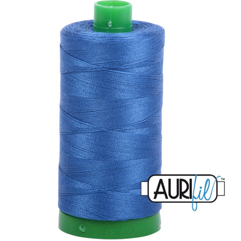 Aurifil Cotton 40wt Thread - 1000 mt - 2730 - Delft Blue