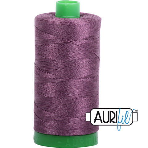 Aurifil Cotton 40wt Thread - 1000 mt - 2568 - Mulberry
