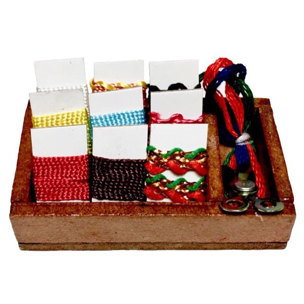 Miniature Sewing Box