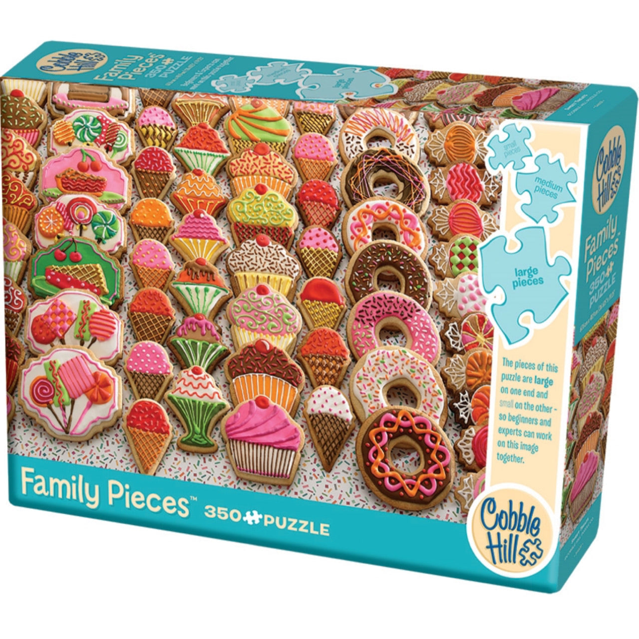 Sweet Treats 350 Piece Family Puzzle