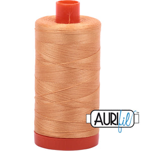 Aurifil Cotton 50wt Thread - 1300 mt - 2214 - Golden Honey