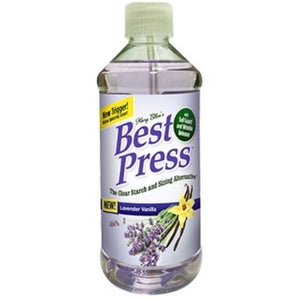 Best Press Starch - Lavendar Vanilla - 499ml - MORE COMING SOON
