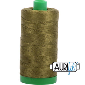 Aurifil Cotton 40wt Thread - 1000 mt - 2887 - Very Dark Olive