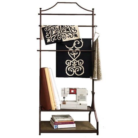 Bronze Garment Rack