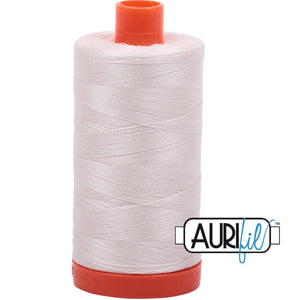 Aurifil Cotton 50wt Thread - 1300 mt - 2311 - Muslin