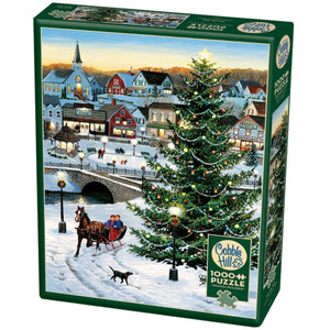 Village Tree 1000 Piece Puzzle