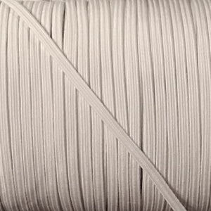 "Elastic - White - 1/8"" (3mm)"