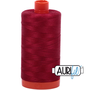 Aurifil Cotton 50wt Thread - 1300 mt - 2260 - Red Wine