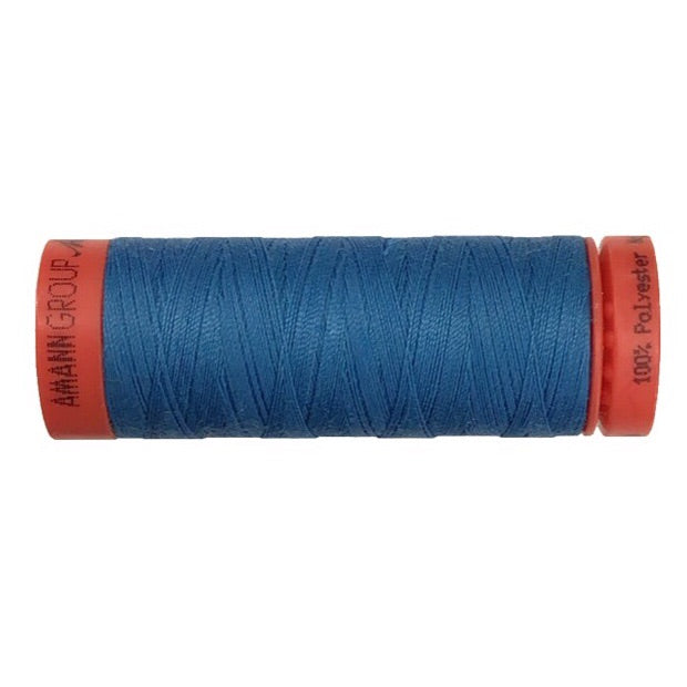 Mettler 100% Polyester Thread - 150mt - 0022 - Bright Blue