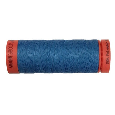 Mettler 100% Polyester Thread - 100mt- 0022 - Bright Blue