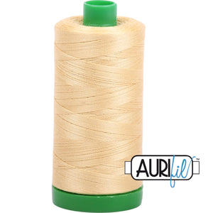 Aurifil Cotton 40wt Thread - 1000 mt - 2125 - Wheat