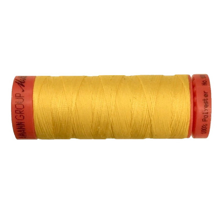 Mettler 100% Polyester Thread - 150mt - 0120 - Yellow