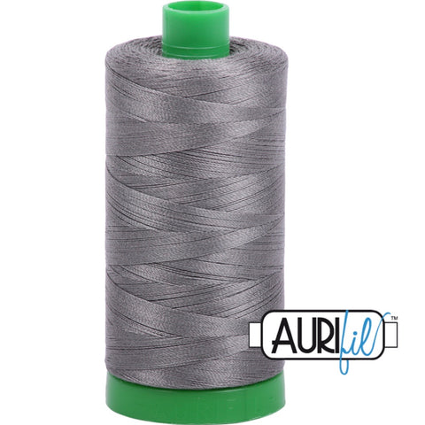 Aurifil Cotton 40wt Thread - 1000 mt - 5004 - Grey Smoke