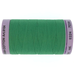 Mettler Cotton 50wt Thread - 500mt - 0224 - Green