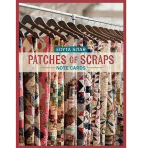 Patches of Scraps - Note Cards by Edyta Sitar