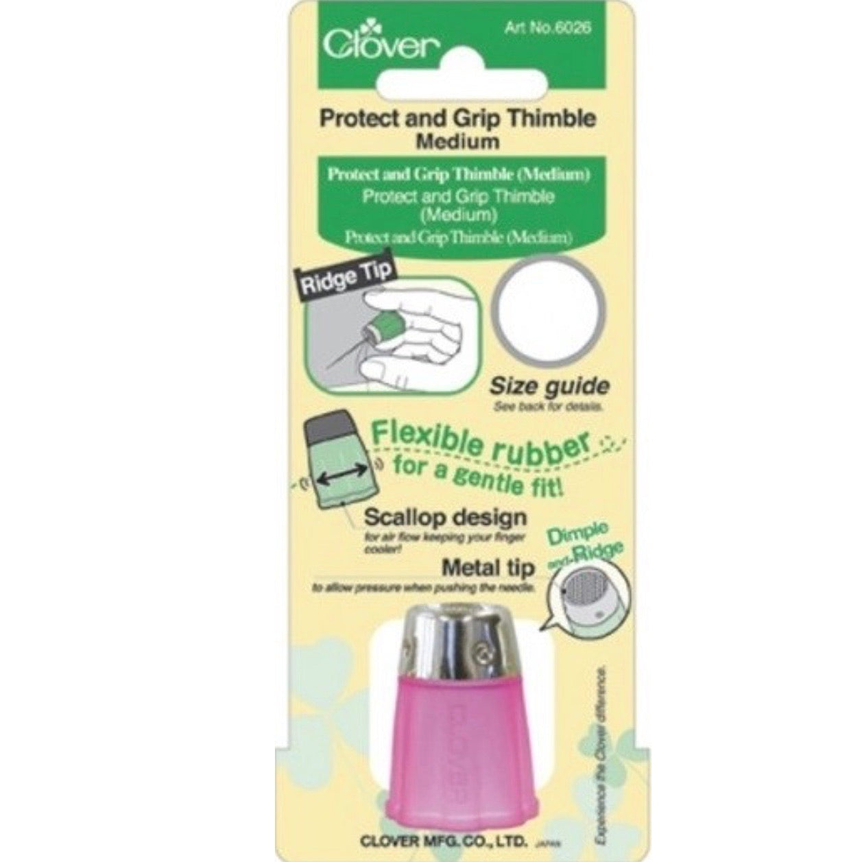 Grip and Protect Thimble - Medium