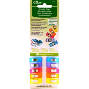 Wonder Clips - Small - 10 pc- Multicoloured