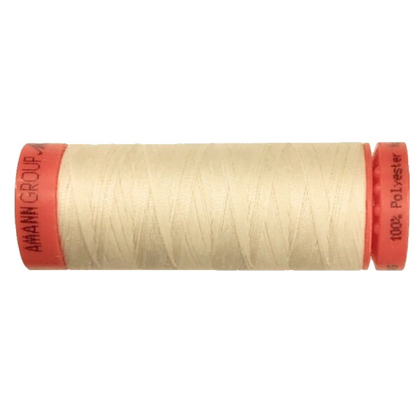 Mettler 100% Polyester Thread - 150mt - 0778 - Cream