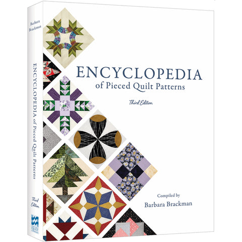 Encyclopedia of Pieced Quilt Patterns by Barbara Brackman - Third Edition