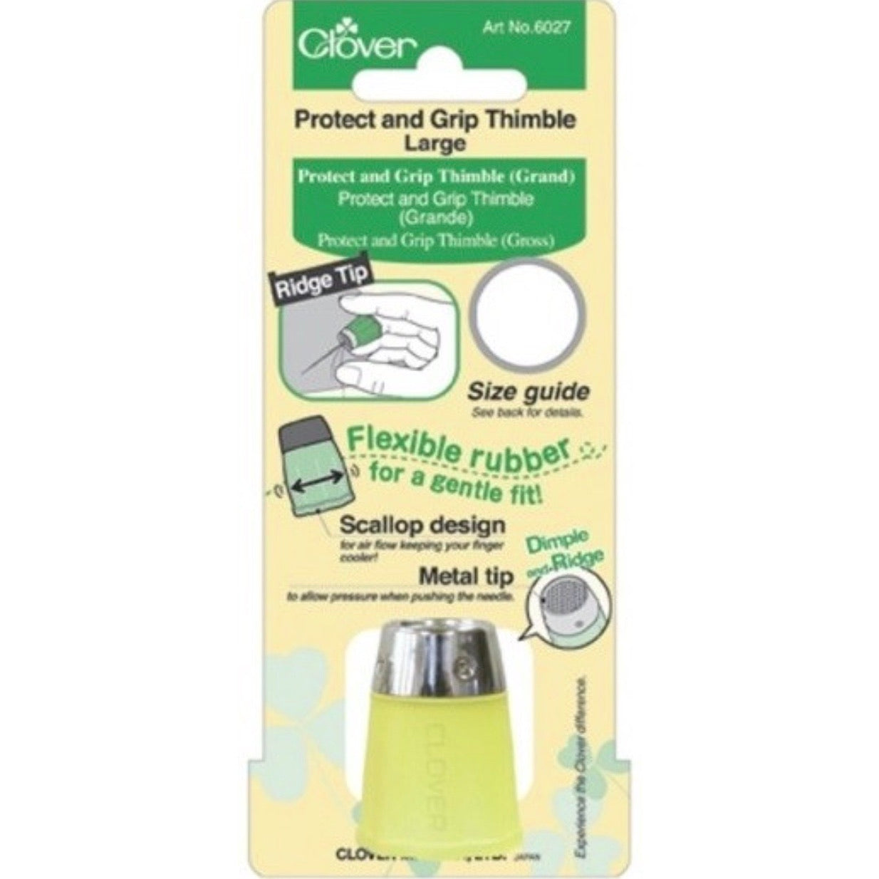 Grip and Protect Thimble - Large