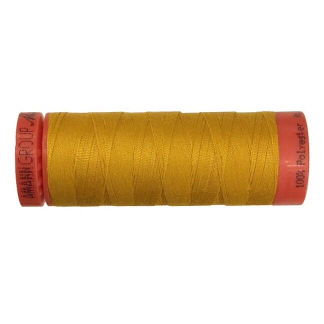 Mettler 100% Polyester Thread - 150mt - 0118 - Golden Yellow