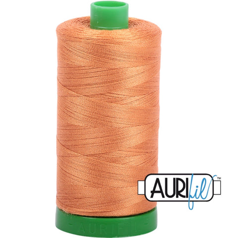 Aurifil Cotton 40wt Thread - 1000 mt - 5009 - Medium Orange