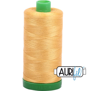 Aurifil Cotton 40wt Thread - 1000 mt - 2134 - Spun Gold