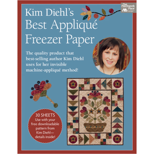 Best Applique Freezer Paper by Kim Diehl