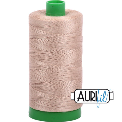 Aurifil Cotton 40wt Thread - 1000 mt - 2326 - Sand