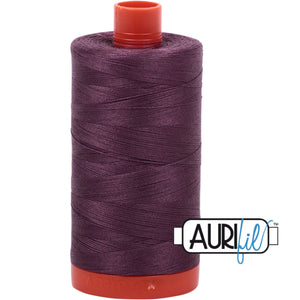Aurifil Cotton 50wt Thread - 1300 mt - 2568 - Mulberry