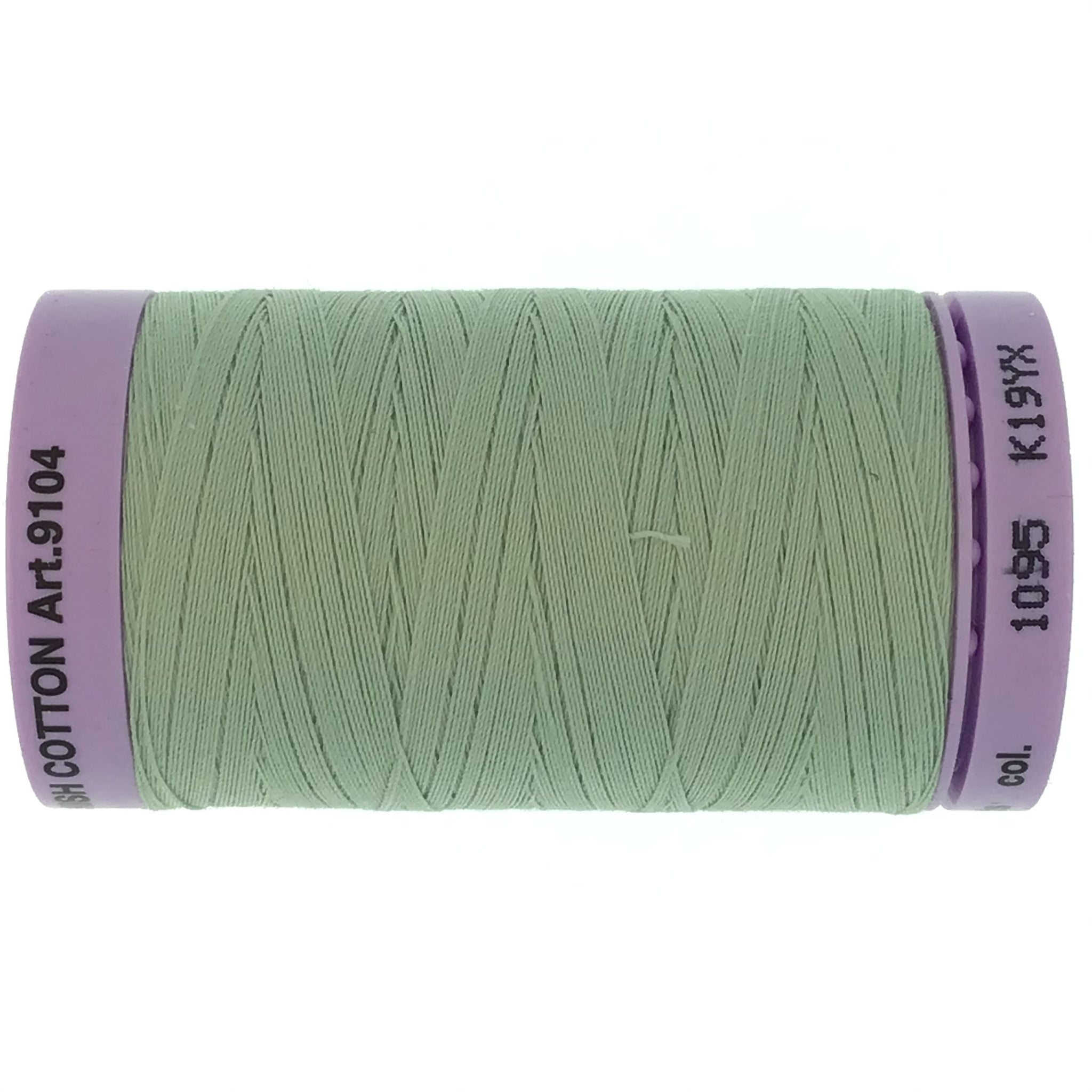 Mettler Cotton 50wt Thread - 500mt - 1095 - Sage Green