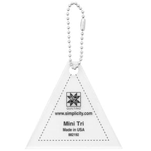 Mini Triangle Acrylic Tool - Keychain