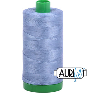 Aurifil Cotton 40wt Thread - 1000 mt - 6720 - Slate
