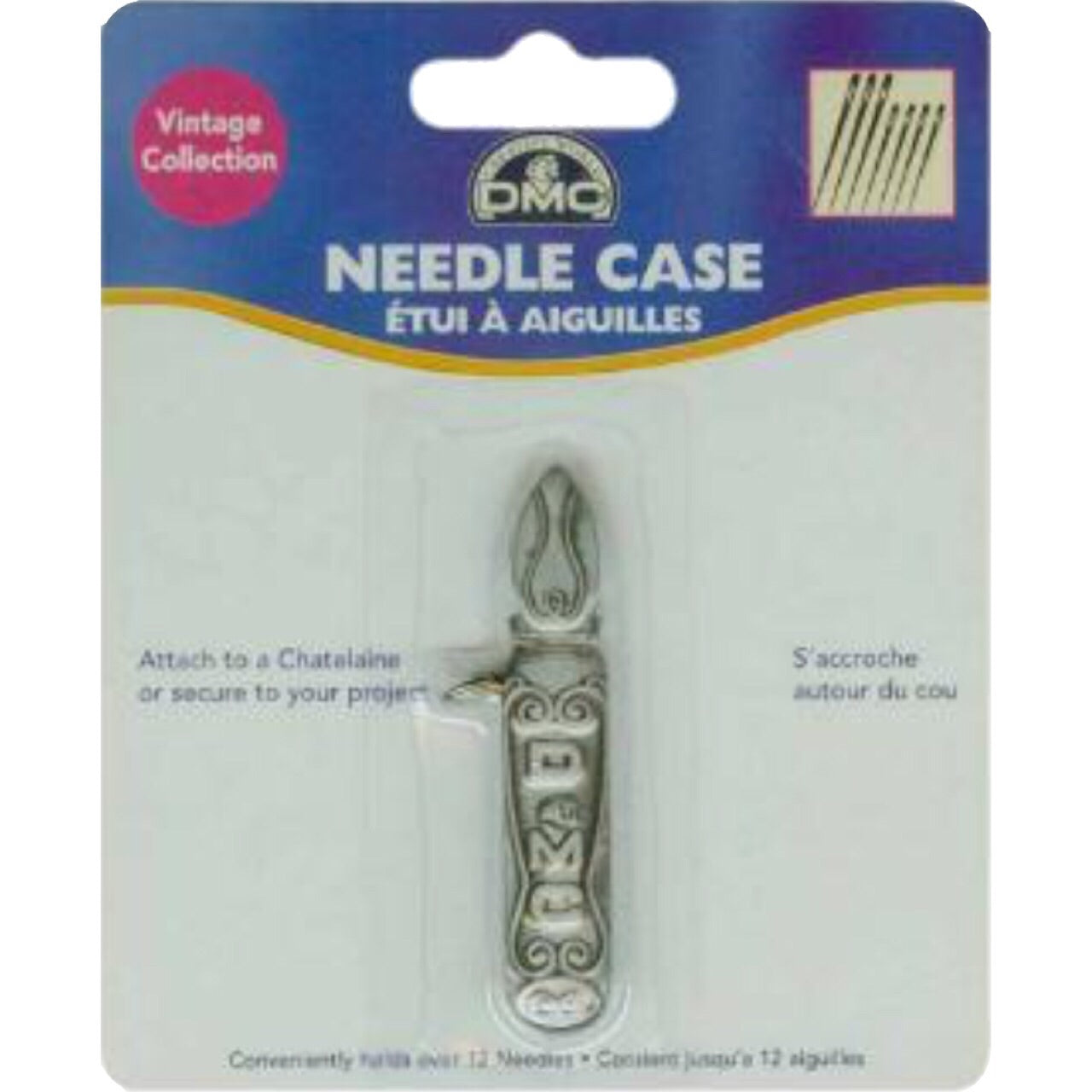 Pewter Needlecase