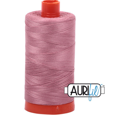 Aurifil Cotton 50wt Thread - 1300 mt - 2445 - Victorian Rose