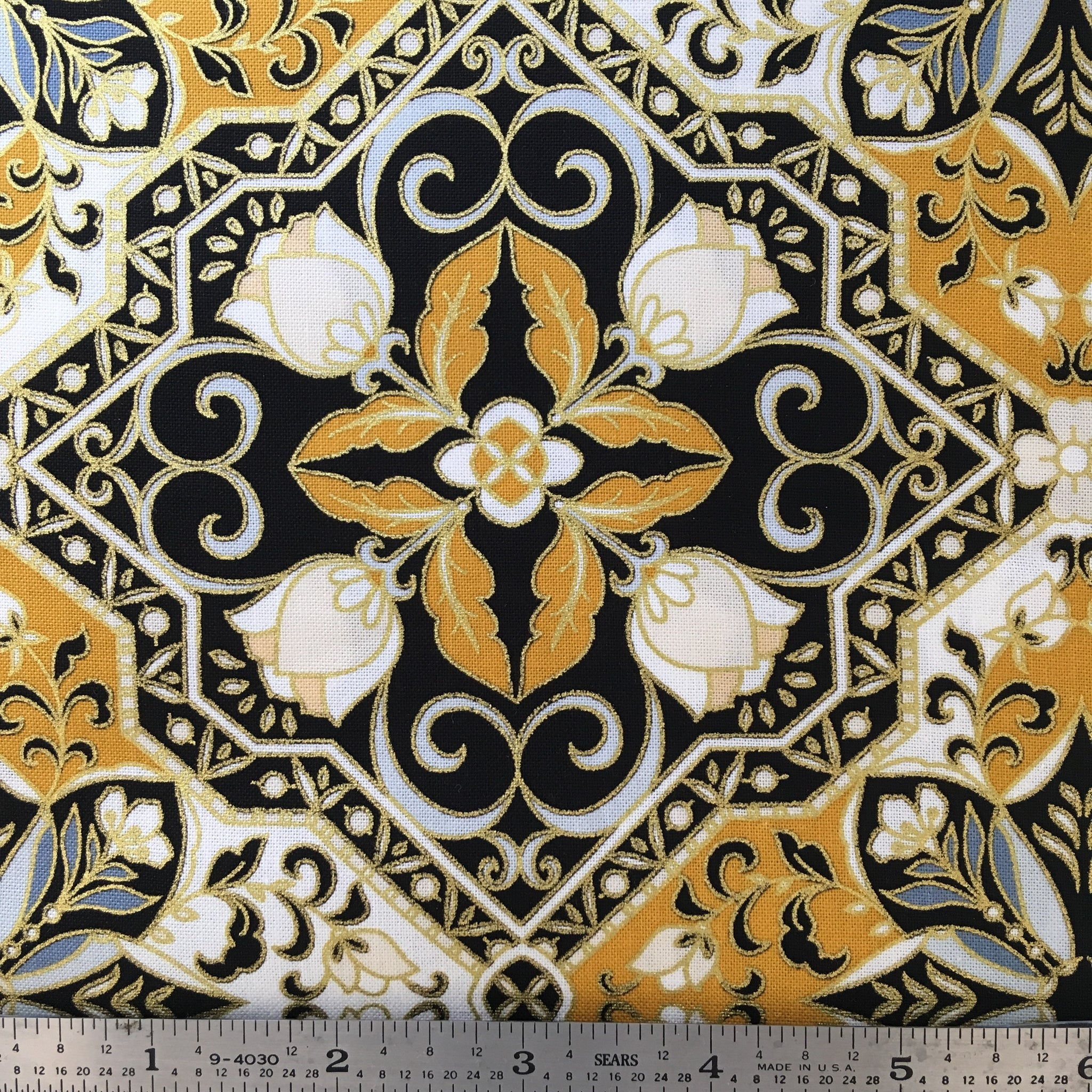 Rejoice Metallic - Trellis - Gold