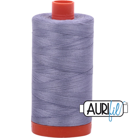 Aurifil Cotton 50wt Thread - 1300 mt - 2524 - Grey Violet