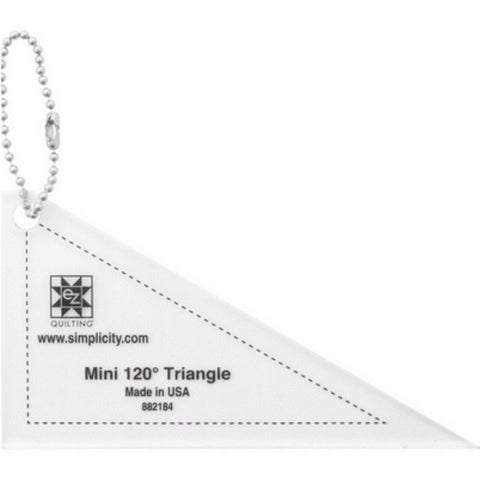 Mini Triangle 120 Acrylic Tool - Keychain