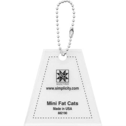 Mini Fat Cats Acrylic Tool - Keychain