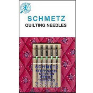 Quilting Sewing Machine Needles - 75/11 and 90/14