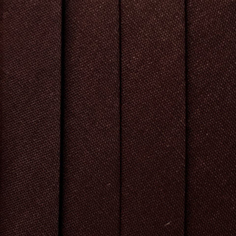 Bias Tape Wide Double Fold - 3 yd pack - Brown