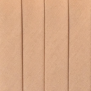 Bias Tape Wide Double Fold - 3 yd pack - Tan