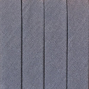 Bias Tape Wide Double Fold - 3 yd pack - Grey