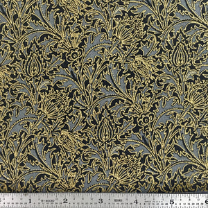 Morris Holiday Metallic - Leaf - Ebony